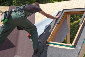 Poser une fenêtre de toit